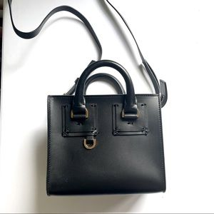 Sophie Hulme bag box albion shiny saddle leather